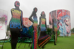 Die 2. China-internationale Art und Weiseausstellung stockbild