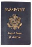 Die Abdeckung eines US-Passes. Stockbilder