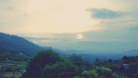 Die Abendsonne Stockfotografie