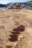 Die Ableitung des Wassers vergiftet den Boden Lizenzfreie Stockfotografie