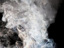 Die abstrakte Abbildung des Rauches Stockfoto
