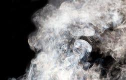 Die abstrakte Abbildung des Rauches Stockfotos
