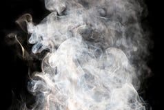 Die abstrakte Abbildung des Rauches Stockbilder