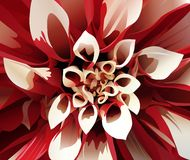 Die abstrakte Blume Lizenzfreie Stockfotos