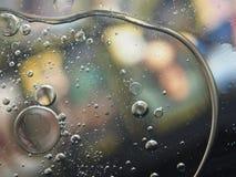 Die abstrakte Fotografie schaumgummi Viele bunten Ballone auf Col. lizenzfreie stockbilder