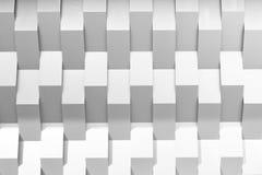 Die abstrakte Szene der Geometriewand Lizenzfreie Stockbilder