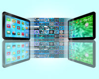Tabletteabstraktion Lizenzfreies Stockfoto