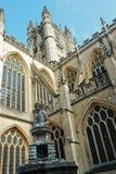 Die Abtei-Kirche von Heiligem Peter und von Paul im Bad Lizenzfreie Stockfotografie