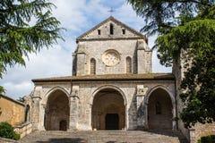 Die Abtei von Casamari, nahe Veroli, Italien lizenzfreie stockfotos
