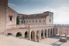 Die Abtei von Montecassino Stockbild
