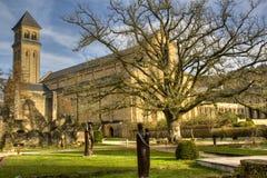 Die Abtei von Orval in Belgien Lizenzfreies Stockbild