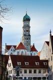 Die Abtei von St. Ulrich und von St. Afra in Augsburg, Deutschland Stockfoto