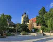 Die Abtei von Tihany Stockfotos