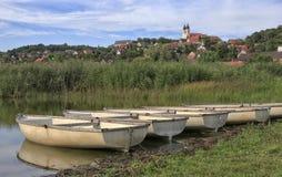 Die Abtei von Tihany Lizenzfreies Stockfoto