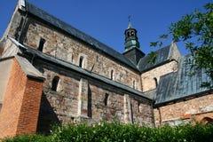 Die Abteikirche in Sulejow Stockfoto