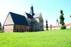 Die Abteikirche in Sulejow Lizenzfreies Stockfoto