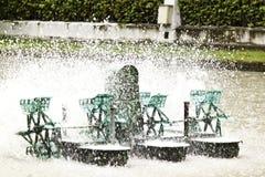 Die Abwasserbehandlung Stockfotos