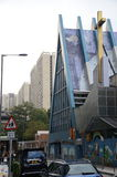 Die Abzahlungs-lutherische Kirche in Hong Kong Lizenzfreie Stockfotografie