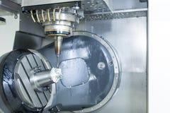 Die 5 Achse CNC-Maschine Lizenzfreie Stockbilder