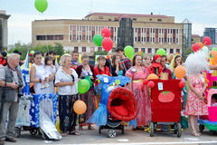 Die achte jährliche Parade von Wagen: achtes Wunder der Welt Stockfoto