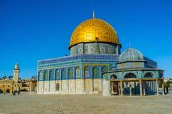 Die achteckige Moschee Lizenzfreie Stockfotografie