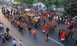 DIE ADEL VON SURAKARTA-PALAST Lizenzfreie Stockfotografie