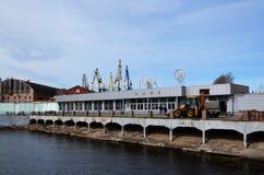 Die Admiralitäts-Werft Lizenzfreie Stockfotografie