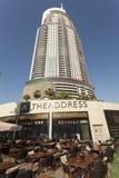 Die Adresse in Dubai, UAE Lizenzfreie Stockfotografie