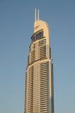 Die Adresse im Stadtzentrum gelegenes Burj Dubai Stockfotografie