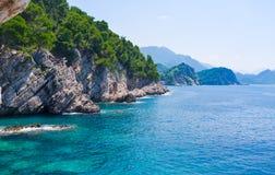Die adriatische Küste Lizenzfreies Stockfoto