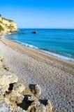 Die adriatische Küste Stockfotos