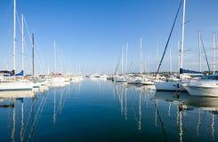Die adriatische Küste Stockfoto