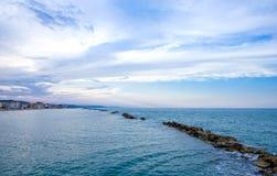 Die adriatische Küste Lizenzfreie Stockbilder