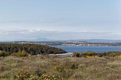 Die adriatische Küste in Istria Lizenzfreie Stockbilder