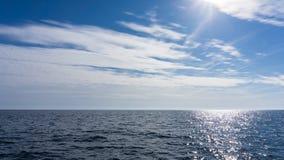 Die adriatisches Seeansicht Lizenzfreie Stockfotos