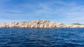 Die adriatisches Seeansicht schöne Bildinsel Lizenzfreie Stockfotografie
