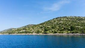 Die adriatisches Seeansicht schöne Bildtapete Stockfoto
