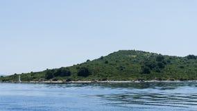 Die adriatisches Seeansicht schöne Bildtapete Lizenzfreie Stockbilder