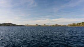 Die adriatisches Seeansicht schöne Bildtapete Lizenzfreies Stockbild