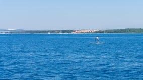 Die adriatisches Seeansicht schöne Bildtapete Lizenzfreie Stockfotografie