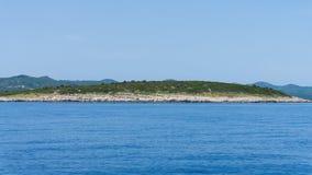 Die adriatisches Seeansicht schöne Bildtapete Stockfotografie
