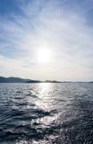 Die adriatisches Seeansicht schöne Bildtapete Lizenzfreie Stockfotos
