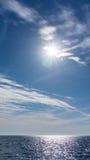 Die adriatisches Seeansicht Schönes Bild Lizenzfreie Stockfotos