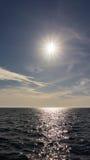 Die adriatisches Seeansicht schönes Bild entspannen sich Lizenzfreies Stockfoto