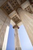 Die Akademie von Athen stockbilder