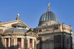 Die Akademie von Künsten in Dresden Lizenzfreies Stockbild