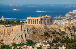 Die Akropolis Lizenzfreies Stockbild