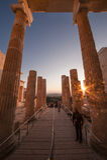Die Akropolis, Athen Stockfotos