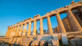 Die Akropolis, Athen Stockfoto