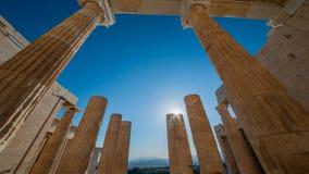 Die Akropolis, Athen Stockfotografie